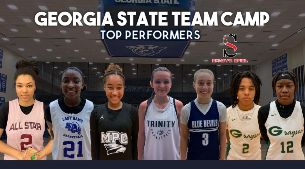 Georgia State Team Camp