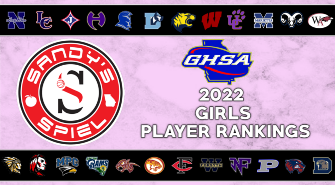 2022 GHSA Girls Player Rankings